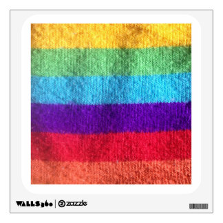 Put a colorfull sock on it sock fabric image wall decal