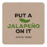 Put a Jalapeño On It Card