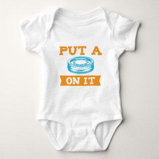 PUT A LID ON IT! BABY BODYSUIT