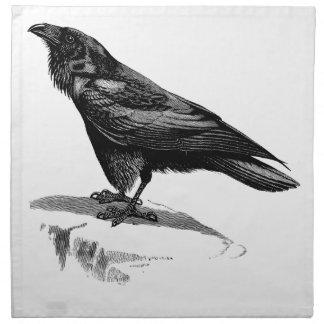 Put  a Raven on It - Cloth Napkin