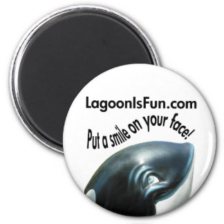 Put a Smile On Your Face! 2 Inch Round Magnet