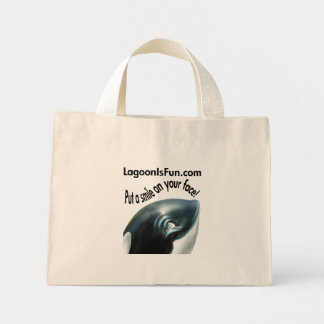 Put a Smile On Your Face! Mini Tote Bag