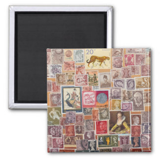 Put a Stamp on it! 2 Inch Square Magnet