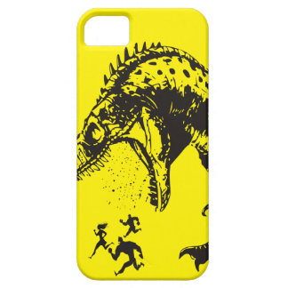 put down the beer and mow the lawn dinosaur LOL iPhone SE/5/5s Case