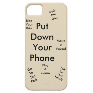 Put down your phone iPhone SE/5/5s case
