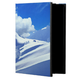 Put for Ipad mountain snow-covered top Powis iPad Air 2 Case