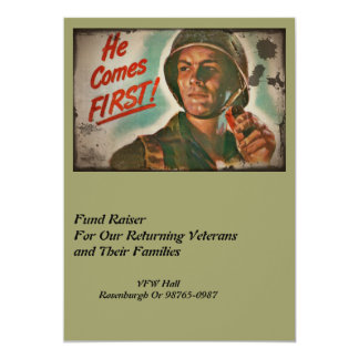 Put Him First WWII Food Rations Card