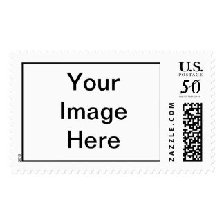 Put Image Text Logo Here Create Make My Own Design Postage