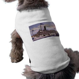 Put-In-Bay - Detroit Ship Building Co. Dog Shirt