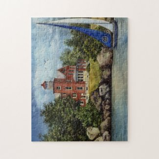 Put-in-Bay Lighthouse Jigsaw Puzzle