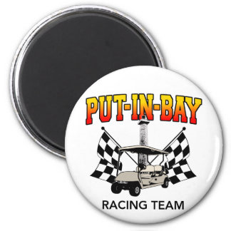 Put-In-Bay Racing Team 2 Inch Round Magnet
