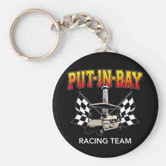 Put-In-Bay Racing Team Keychains