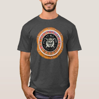 Put It All On Silver and Black Roulette T-Shirt