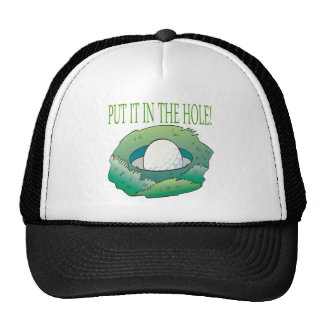 Put It In The Hole Trucker Hat
