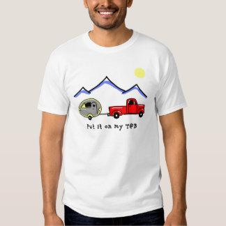 Put it on my T@B T-shirt