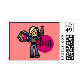 put it on the envelope that holds the gift card. postage stamp
