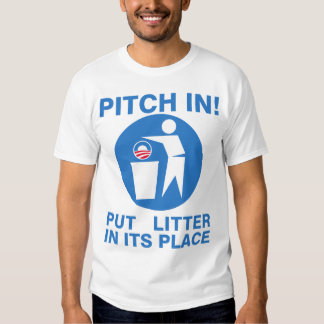 Put Litter In Its Place! Shirt