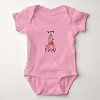"""""""Put me Down"""" girls t-shirt"""