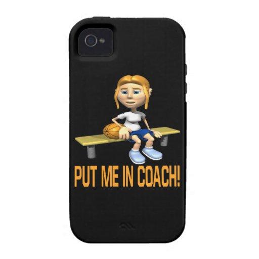 Put Me In Coach iPhone 4 Cover