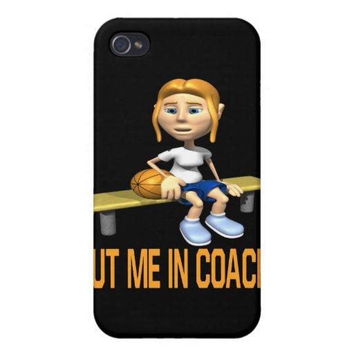 Put Me In Coach iPhone 4/4S Case