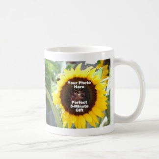 Put My Own Personalized Photo On Quick Easy Gift Coffee Mug