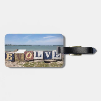 """Put-n-Bay """"Evolve"""" color photo Luggage Tag"""
