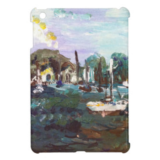 Put-n-Bay Lake Erie Island Painting #2 Case For The iPad Mini
