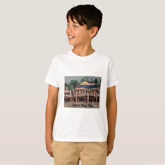 Put-n-Bay Marina, Ohio Kids T-Shirt