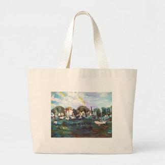 Put-n-Bay Painting #2 Jumbo Tote Bag