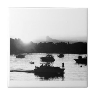 Put-n-Bay Photo Small Square Tile