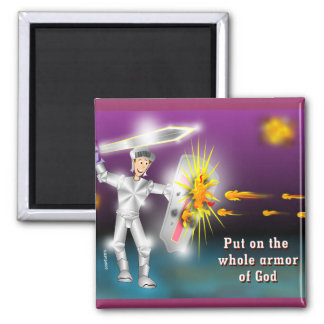 Put on the Whole Armor of God Magnets