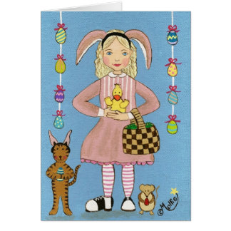 Put on your Bunny Ears! Greeting Card