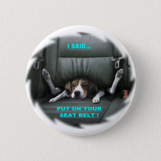 PUT ON YOUR SEAT BELT BUTTON