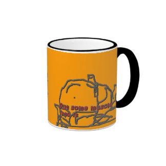 put some muscle ringer coffee mug