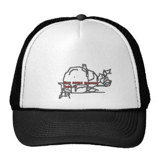 put some muscle trucker hat
