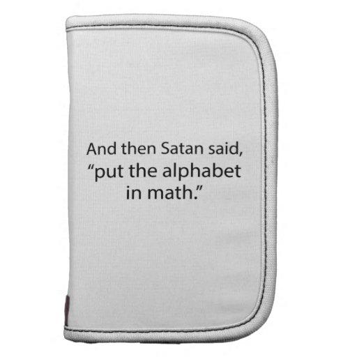 Put The Alphabet In Math Planner