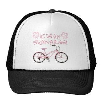 Put the FUN between yoru legs - pink Trucker Hats