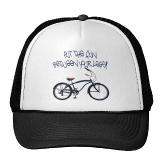 Put the FUN between your legs - blue Hats