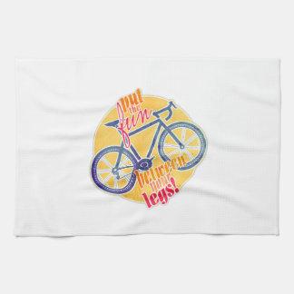 put the fun between your legs! kitchen towel