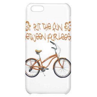 Put the FUN between your legs - Orange iPhone 5C Case