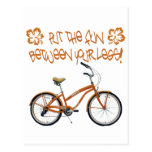 Put the FUN between your legs - Orange Post Cards