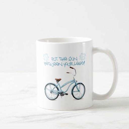 Put the FUN in between your legs - light blue Coffee Mug