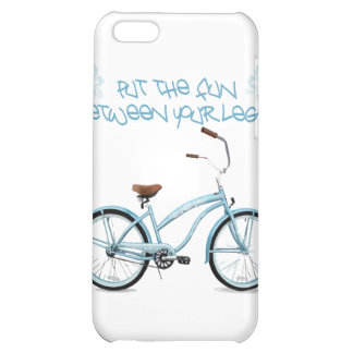 Put the FUN in between your legs - light blue iPhone 5C Case