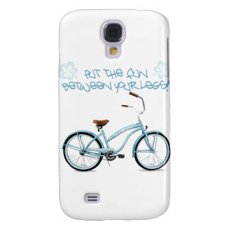 Put the FUN in between your legs - light blue Samsung Galaxy S4 Cover