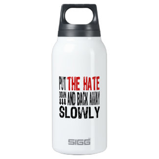 Put the Hate Down Insulated Water Bottle