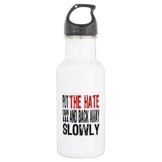 Put the Hate Down Water Bottle