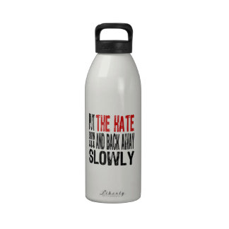Put the Hate Down Water Bottles