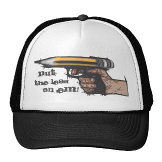 Put the lead on em cap trucker hat
