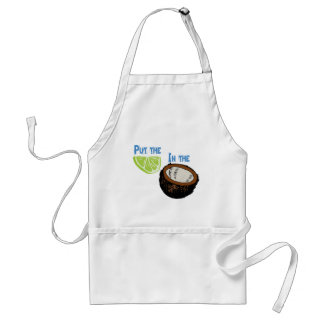 Put the lime in the Coconut! Adult Apron
