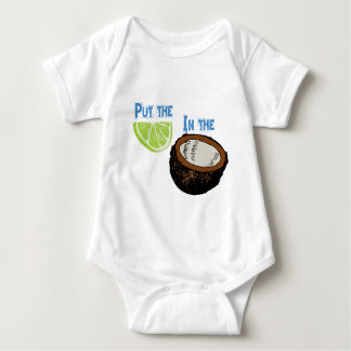 Put the lime in the Coconut! Baby Bodysuit